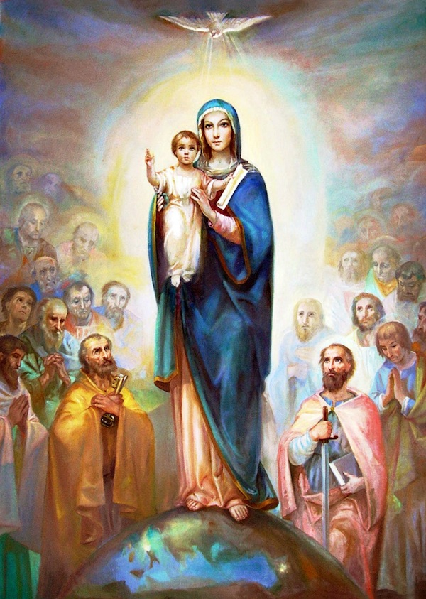 Mary, Queen of Apostles, pray for us!
