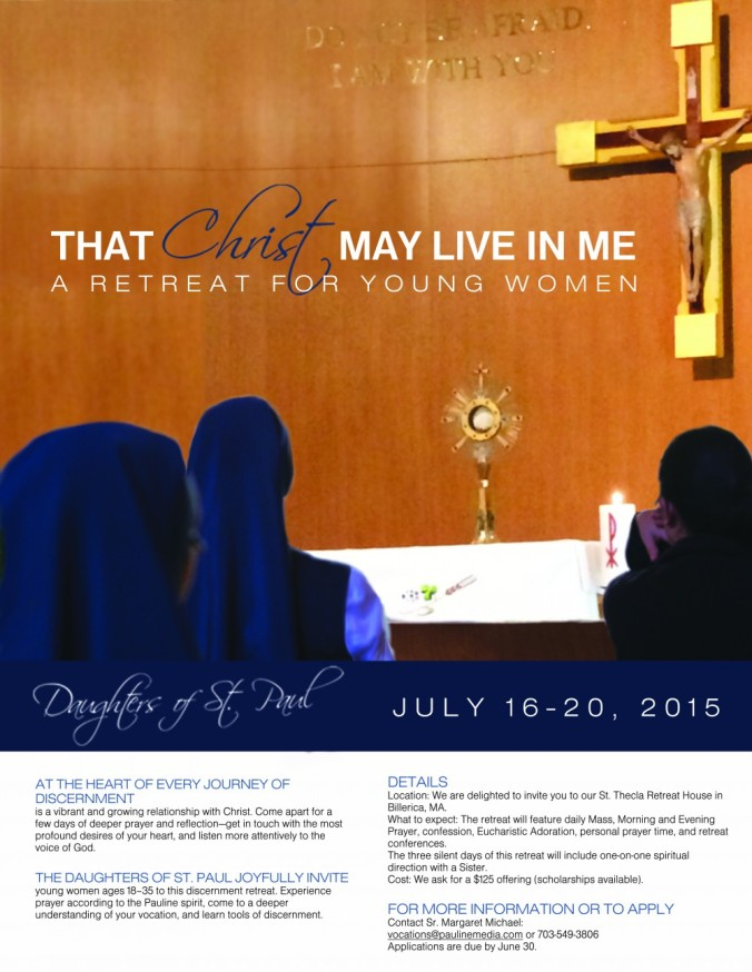 3That Christ May Live in Me_Daughters of St. Paul_Discernemnt Poster_YCL_Consecrated Life_Discernment