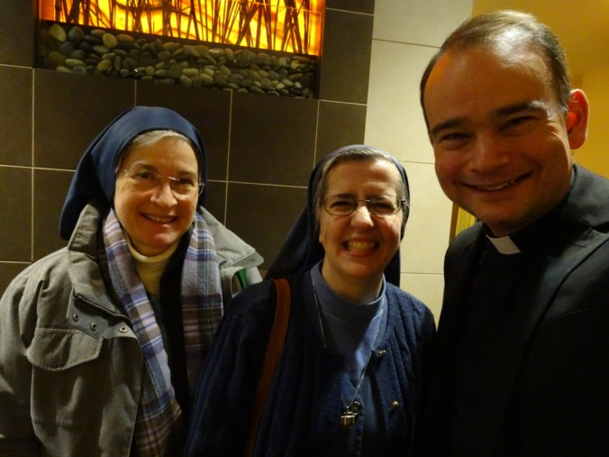At a recent meeting with Father Roderick. (With me is Sr. Anne Flanagan aka @Nunblogger)