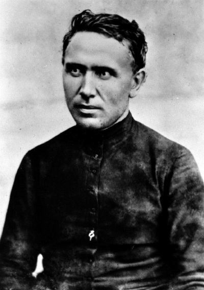 A Saintly Priest: Father Damien of Molokai Photo credited to Sacred Hearts Archives, Rome - http://www.hawaiimagazine.com/images/content/Damien_Hawaii_Saint_Molokai_Kalaupapa_canonization/Damien%20p1.jpg, Public Domain