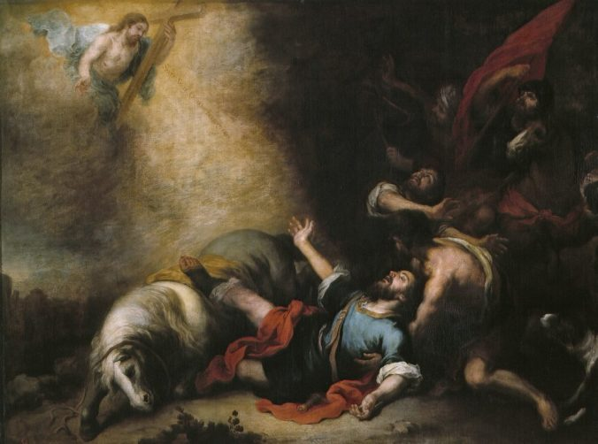 The Conversion of Saint Paul (Murillo)